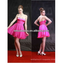 2013 New style sexy strapless short prom/ evening/party dress