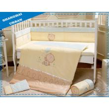 Комплект постельных принадлежностей младенца хлопка 5PCS 100%