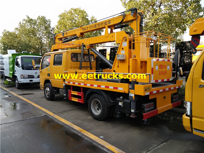Articulated Aerial Lift Vehicle