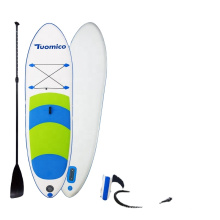 SUNGOOLE Decompression Surfboard with All SUP Accessories Length 117 Inches Wide Vertical Fins, Suitable for paddling
