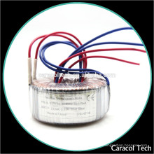 Transformador de potencia toroidal para equipamiento médico