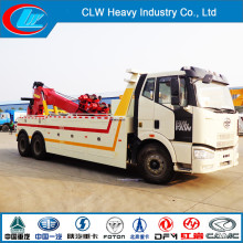 ISO Quality Faw 6X4 Wrecker Tow Truck for Sale