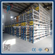 Entrepôt Pallet Rack Mezzanine supporté pour usage de garage