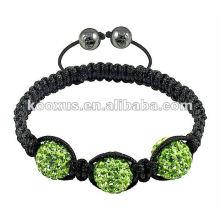 2014 Fahion tresor paris shamballa bracelets