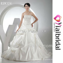RSW324 Silver Embroidery Wedding Dresses