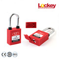 38mm Steel Shackle Length Danger Lockout Tagout padlock