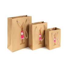 Impression de sac de papier fait sur commande de sac de papier d'impression de sac de papier d'impression de couleur