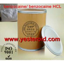 Poudre crue de Benzocaine / ester éthylique d'acide 4-Aminobenzoic CAS 94-09-7