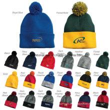 30 Farben angepasst stricken Hüte für Werbegeschenke