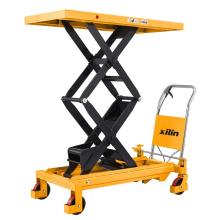Xilin 800KG 1760lbs   Manual hydraulic Double Scissors Lift Table