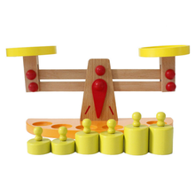 Wooden Balance Scales Educational Toys Children Gift
