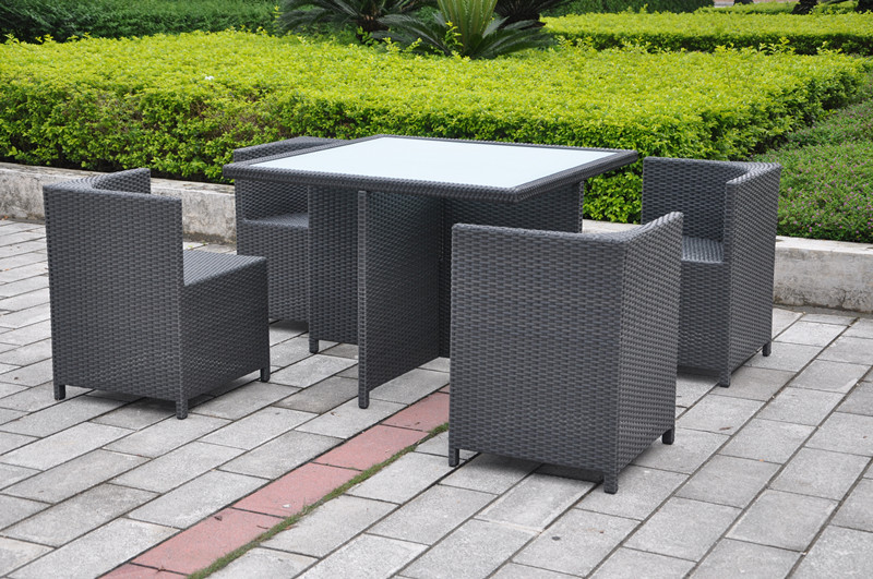 Outdoor Square Dining Set