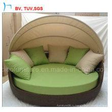 Королевский Открытый мебель из ротанга диван (CF938L)