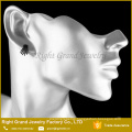 316L Surgical Steel Black Plated Punk Skeleton Hand Bone Claw Ear Tragus Stud Earrings