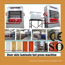 Door skin hot press machine/ MDF door skins press
