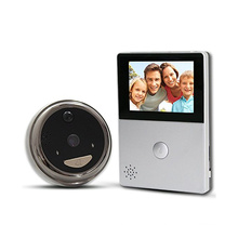 Wifi video peephole doorbell pro phone with HD camera pir motion for smart home security