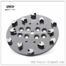 "10"" Arrow Concrete Grinding Head Disc Plate for Edco Floor Grinder"