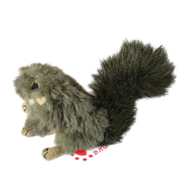 pet toy grey squirrel