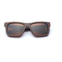 A nova marca de óculos de sol de madeira natural ambiental polarizada