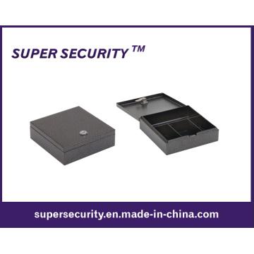 Steel Cash Drawer Safe Box with Key Lock (STB5)