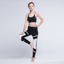 Polainas de las mujeres transpirables 88% polyamida 12% pantalones de yoga elastano mujeres gimnasio deportivo leggings