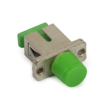 Sc / Fc Hybrid Fiber Optic Data Transmission Adapter With Ceramic / P.b Sleeve