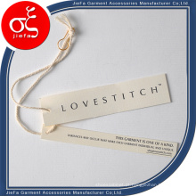 Tag de papel de grade de moda / modelos de tag de pendurar com corda de algodão