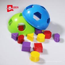 Caja de clasificación para niños con bloques apilables