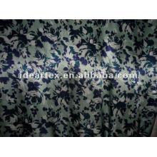 Tissu Satin polyester imprimé pour la robe et vêtements de nuit faites personnaliser