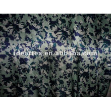 Polyester Printed Satin Fabric for Dress and Sleepwear customize-made