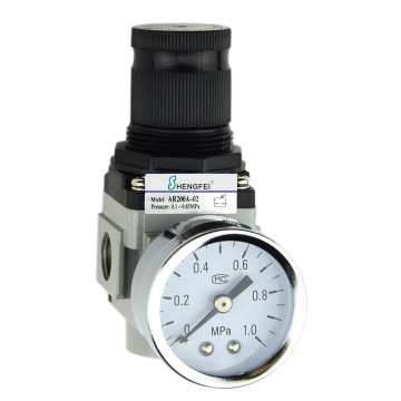 """AR2000A-02 G1/4"""" Air Regulator 22-123 psi"""