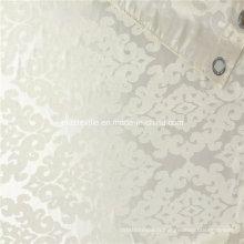 Tissu de rideau jacquard robuste en polyester