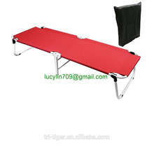 Portable Military Fold Up Camping Bed Cot + Free Storage Bag- 5 Colors