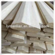 vigas de madera maciza