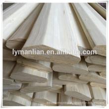vigas de madeira maciça