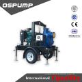 Landwirtschaftliche Bewässerung Landwirtschaftliche Diesel-Motor 2-Rad-Traktoren montiert Wasserzentrifugenpumpe