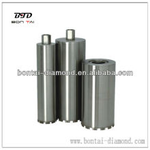 Reinforced concrete wet diamond core bits