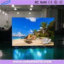 P4 HD a todo color de interior / interior de alquiler de alquiler de pantalla LED Módulo de tablero de señal para el rendimiento de la etapa