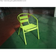 High Quality Modern Aluminum Outdoor Chair WITH POWDER COATING