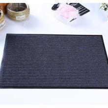 Estera de puerta de la alfombra del pasillo de la raya doble europea caliente