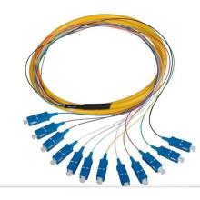 Sm SC/PC 0.9mm 1.5m 12 Cores Bandles Pigtail