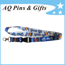 Custom Polyester Lanyards with Logo (Lanyard-110)