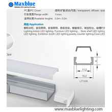 Hot Selling Aluminum Profile with Press-on Cover for LED Strip