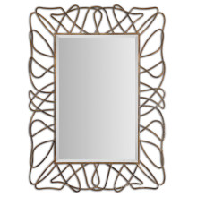 Hot Sales Rectangle Antiqued Gold Wall Framed Mirror