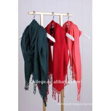 wool twill scarf