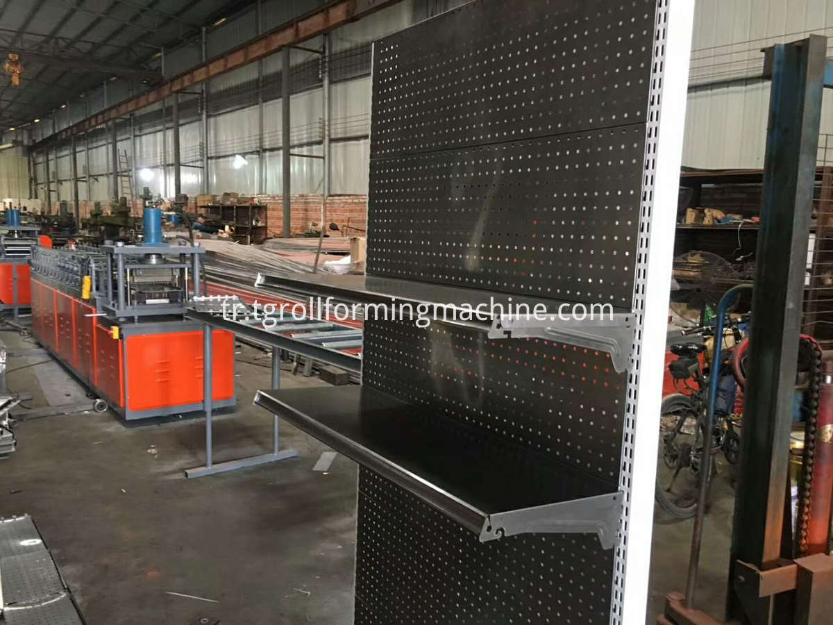 Shelf Baseplate Roll Forming Machine Line