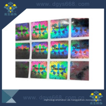Anti-Counterfeiting Hologramm Aufkleber Security Label Made in China