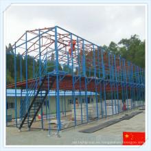 2016 Q235 Q345 Estructura de acero grande para el taller