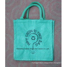 Colored Jute Bag (HBJU-031)