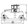 Shantui Pneumatic Road Roller 26 ตัน